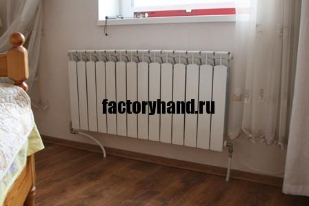 Радиатор на своем месте