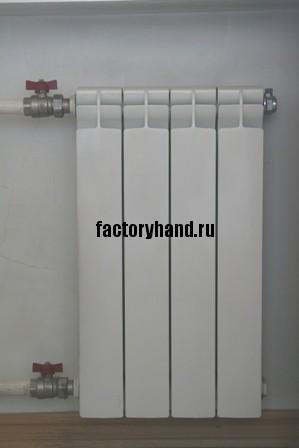 алюминиевый секционный радиатор отопления