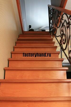 Как изготовить лестницу.