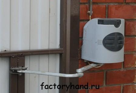 -50 градусов автоматика для ворот: