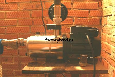 Станция водоснабжения с частотным преобразователем