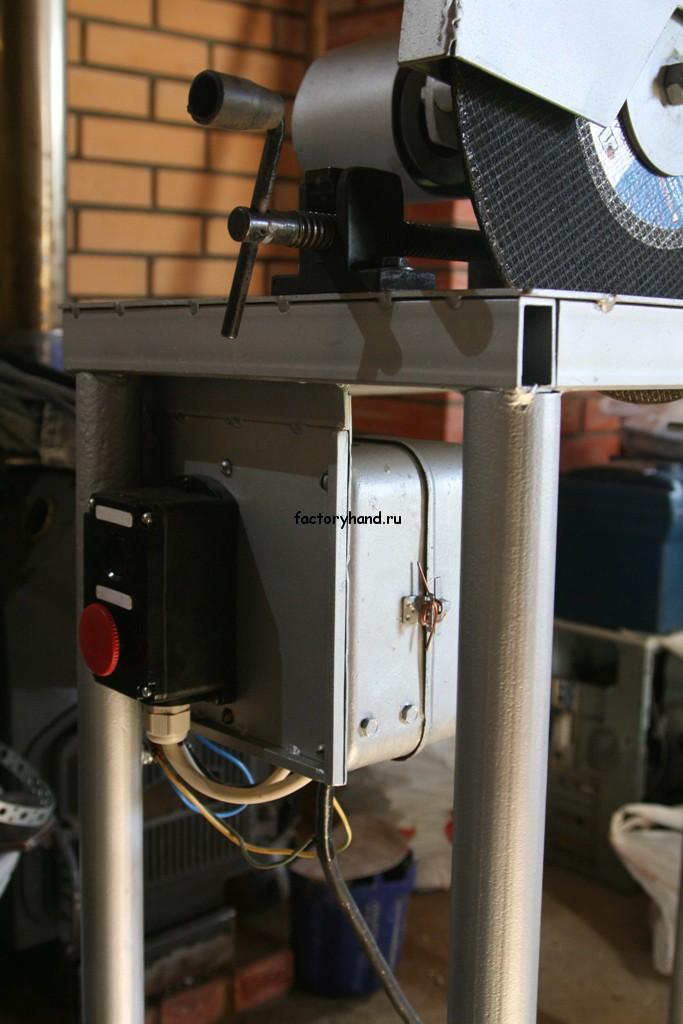 Кнопочный пост с магнитным пускателем