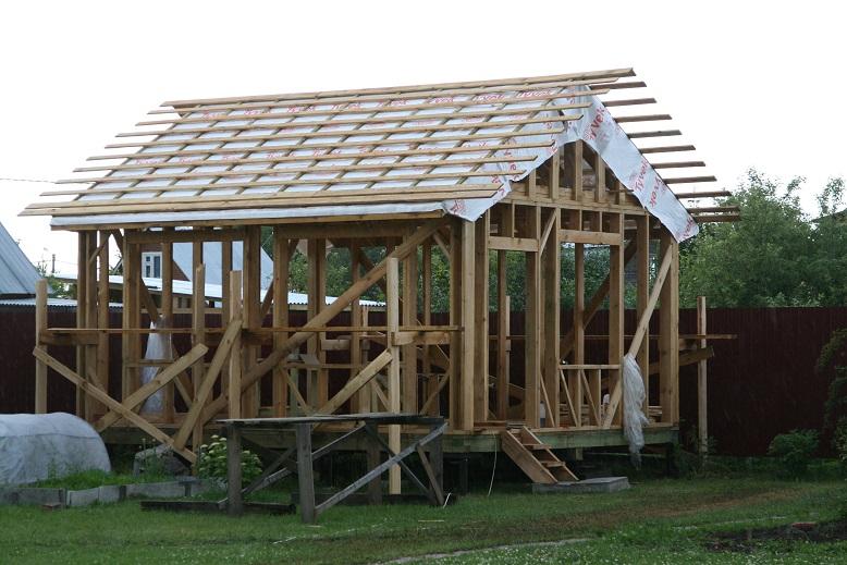 Контробрешетка и обрешетка крыши